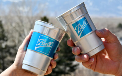 Is this the sustainability revolution? To go – aluminum cups.